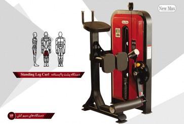 نمونه محصولات دستگاههای بدنسازی گروه صنعتی New Max