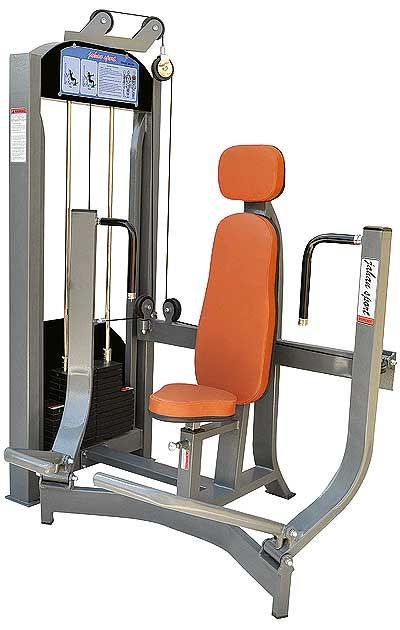 دستگاه بدنسازی پرس نشسته از جلو - دستگاه بدنسازی New Max
