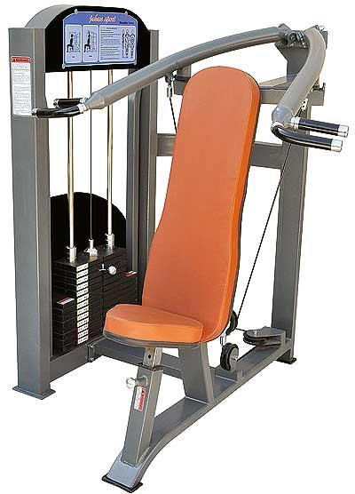 دستگاه بدنسازی پرس سرشانه - دستگاه بدنسازی New Max