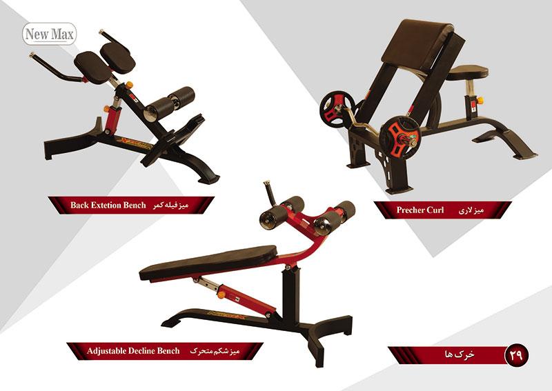 خرید دستگاه بدنسازی میز شکم تولید و فروش دستگاه بدنسازی میز شکم یا تخته شکم