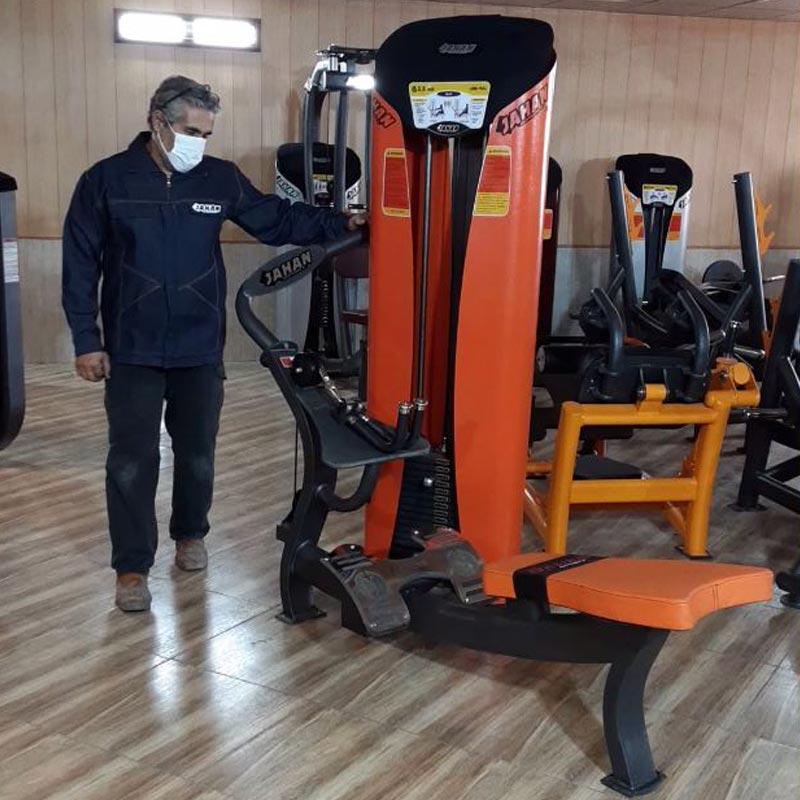 دستگاه بدنسازی پارویی - ارتقاء یافته -فروش فوری دستگاه بدنسازی